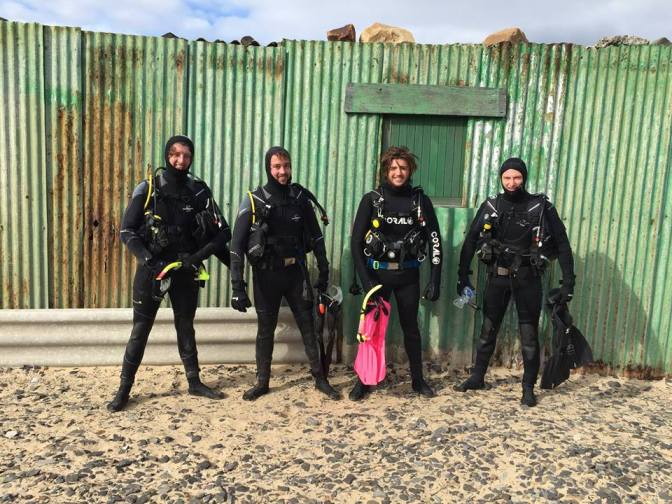 Doing a 3 month scuba course in Cape Town's Atlantic waters in NO JOKE!!