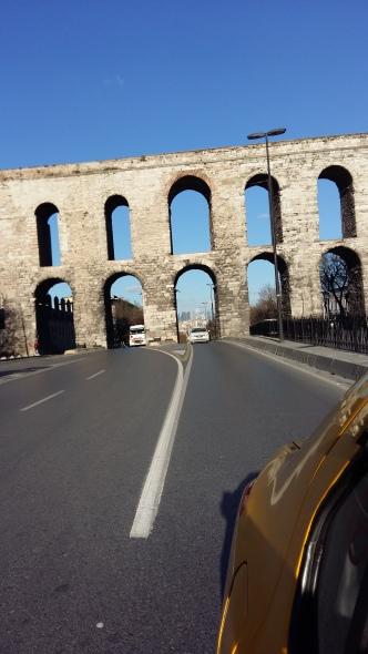 Leaving Istanbul