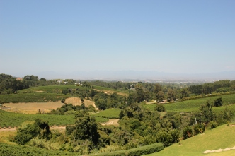 View from Beau Constantia